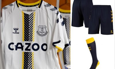Everton FC 2021 2022 hummel Blue Home Football Kit, 2021-22 Soccer Jersey, 2021/22 Shirt, Camiseta 21/22