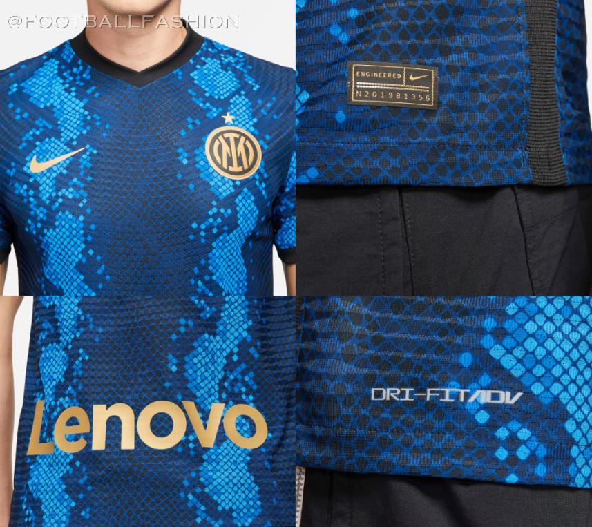 Inter Milan 2021/22 Nike Home Kit - FOOTBALL FASHION