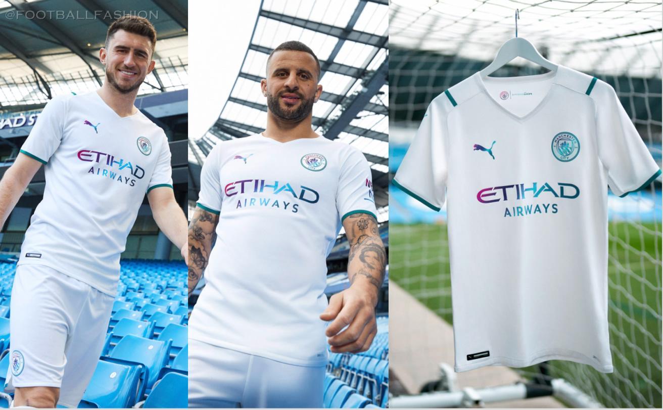 Manchester City 2021 22 Puma Away Kit Football Fashion