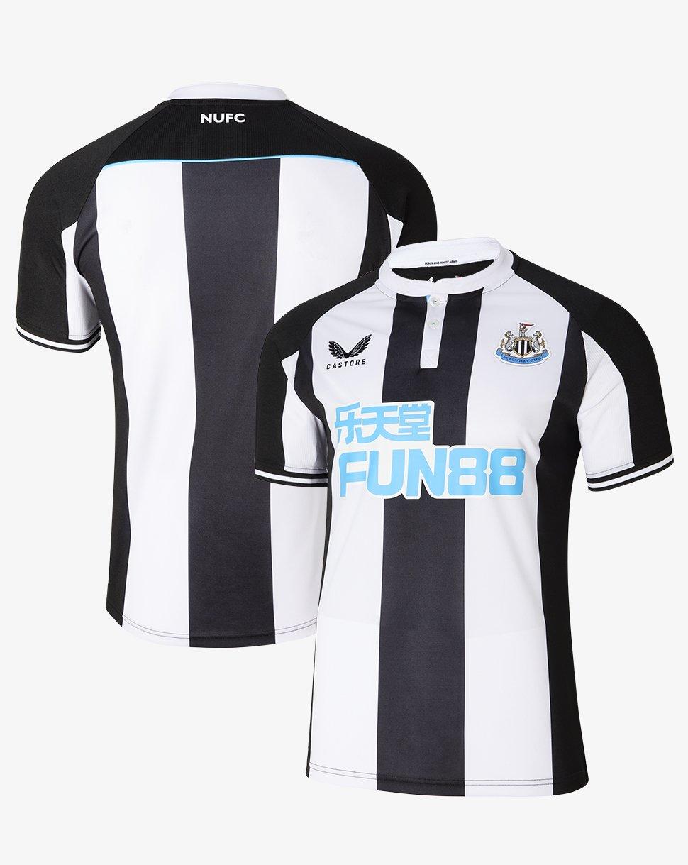 Newcastle United 2021/22 Castore Home Kit - FOOTBALL FASHION