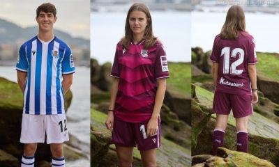 Real Sociedad 2021 2022 Macron Home and Away Football Kit, 2021-22 Soccer Jersey, 2021/22 Shirt, 21-22 Camiseta de Futbol