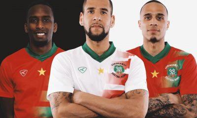 Suriname 2021 2022 Klupp Home and Away Football Kit, 2021-22 Soccer Jersey, 2021/22 Shirt, Tenue, Thuisshirt, Uitshirt