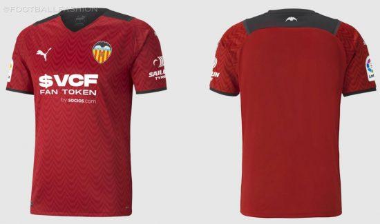 Valencia CF 2021 2022 PUMA Home and Away Football Kit, 2021-22 Soccer Jersey, 2021/22 Shirt, Camiseta de Futbol 21-22