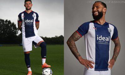 West Bromwich Albion 2021 2022 PUMA Home Football Kit, 2021-22 Soccer Jersey, 2021/22 Shirt