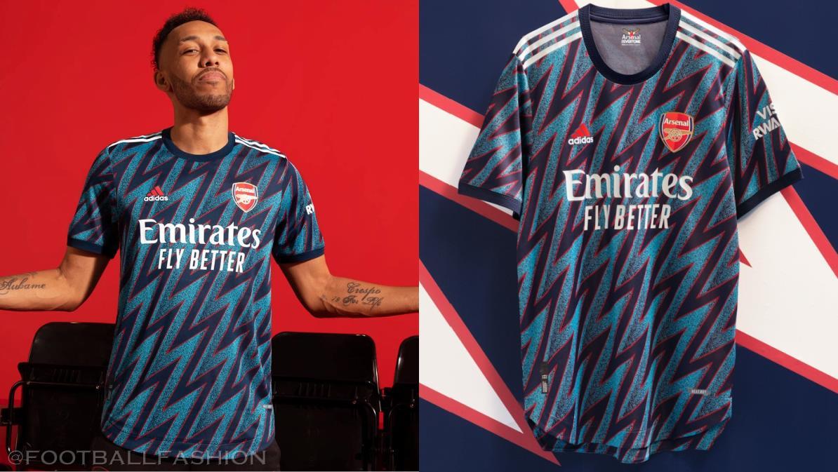 Arsenal 2021/22 adidas Third Kit - FOOTBALL FASHION